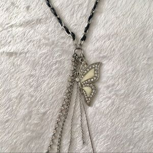 Guess Butterfly Necklace